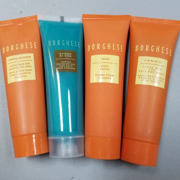 Borghese Other - Borghese 4pc Travel Size Mud Creme Gel